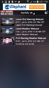 WTKR Weather- screenshot thumbnail
