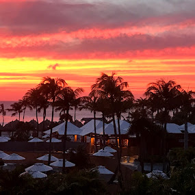 Aruban Sunset by Donna Silva - Instagram & Mobile iPhone
