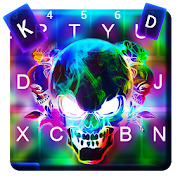 App Smoke Colorful Skull Keyboard Theme APK for Windows Phone
