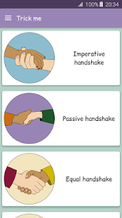App Body language - Trick me. Analyzing of Gestures APK for Windows Phone