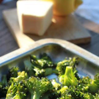 Lemon, Garlic & Parmesan Roasted Broccoli