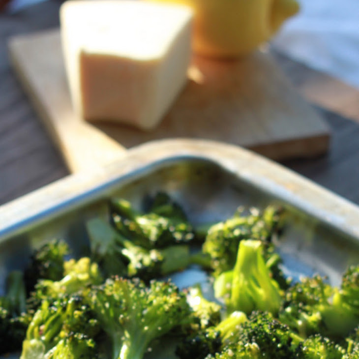 Lemon, Garlic & Paremesan Roasted Broccoli Recipe | Yummly