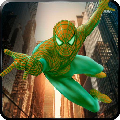 Flying Spider Web Hero Battle City Russian Mafia 1.1 APK MOD