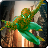Flying Spider Web Hero Battle City Russian Mafia