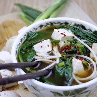 Korean-Style Miso Noodle Soup