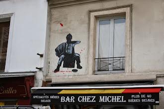 Photo: Street art - Jef Aerosol -Paris XIIIe -La butte aux cailles