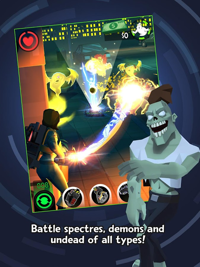 Ghostbusters™: Slime City- screenshot