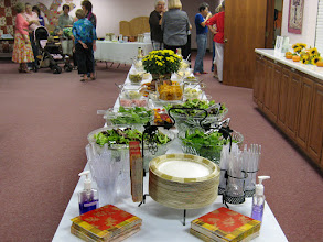 Photo: Refreshment Table