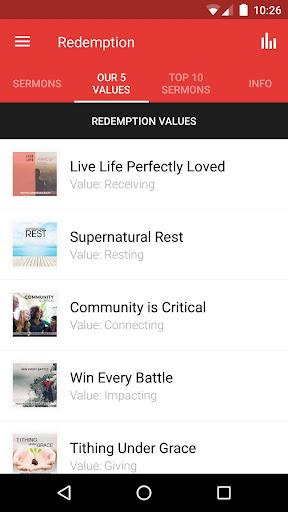 Redemption Church South Africa screenshot 2