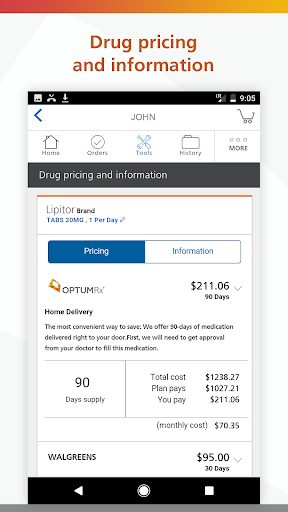 OptumRx screenshot