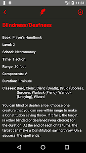 Spell List D&D 5th Edition - Apps on Google Play