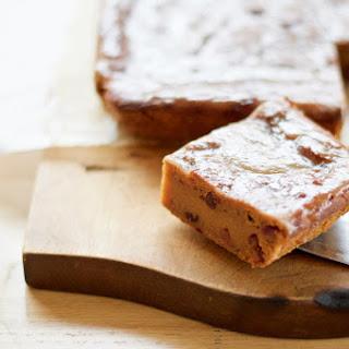 Sweet Potato Cake with Cranberries and Orange Glaze