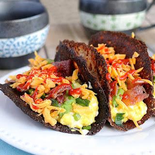 Keto Breakfast Tacos.
