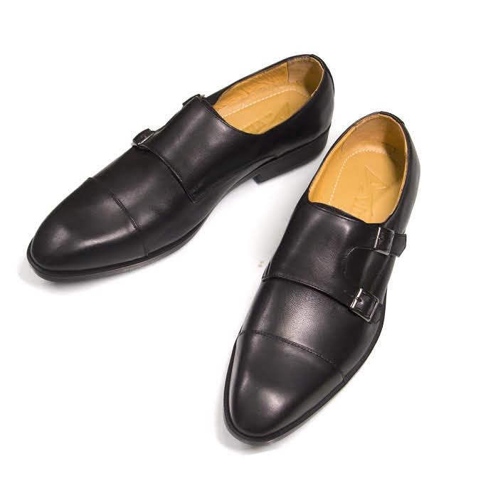 Giày nam da bò thật cao cấp GD11