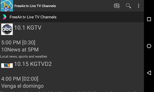 FreeAir.tv: Watch, Pause, Record Live TV anywhere 3.12.01 screenshots 10