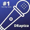 DRaptza: Get desi rap news updates (Hip Hop) icon