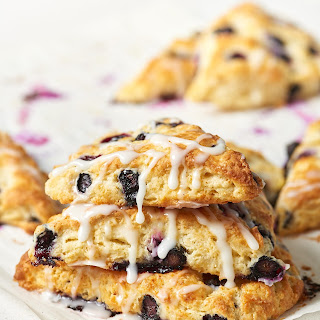 Buttermilk Blueberry Lemon Scones.