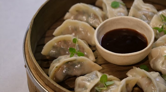 Dumplings: Rodrigo de la Calle y Primaflor, unidos por la cocina saludable