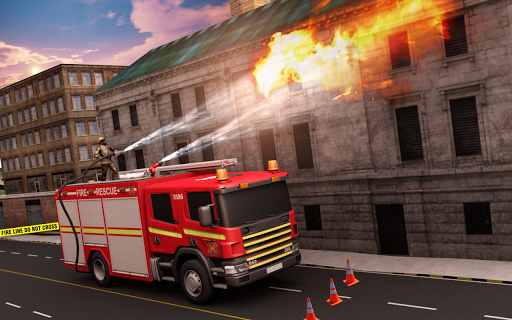 NY City FireFighter Hero: Rescue Truck Simulator 1.1 screenshots 3