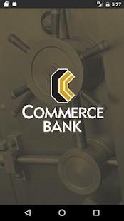 Commerce Mobile Banking - náhled
