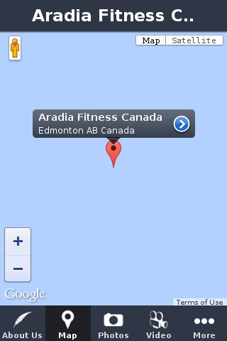 Aradia Fitness Canada- screenshot