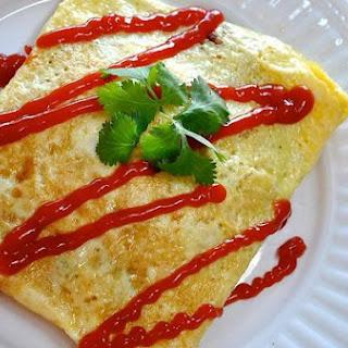 B.L.D Stuffed Omelette - Breakfast, Lunch, Dinner