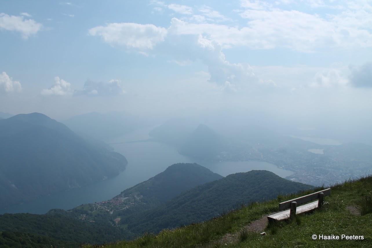 Monte Boglia-Lago Lugano (Le petit requin)