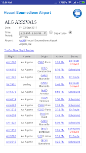 Algeria Airports Flight Time - náhled