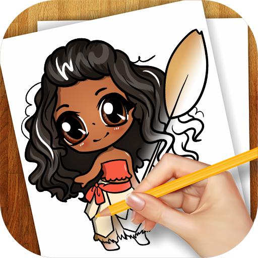 Learn to Draw Moana for PC