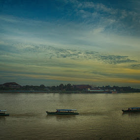 Batanghari Jambi by Octavianus Rio Herliawan - Landscapes Sunsets & Sunrises