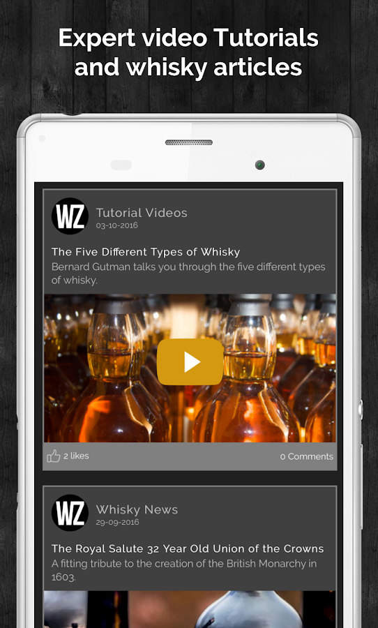 Whizzky Whisky Scanner- screenshot