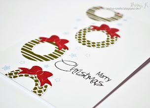 Photo: http://bettys-crafts.blogspot.de/2013/10/merry-christmas.html