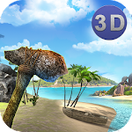Stranded Island Survival 3D Icon