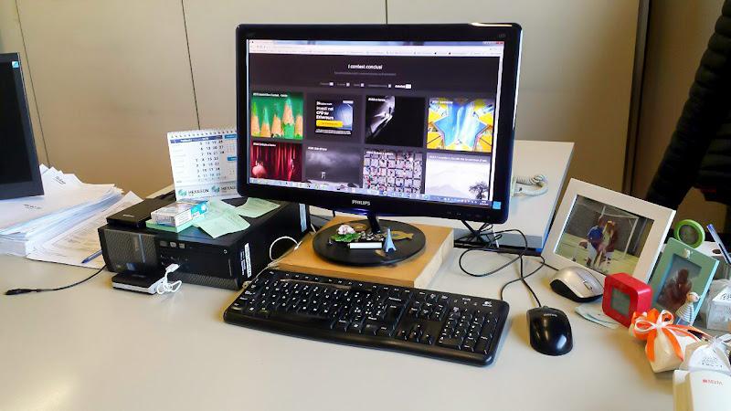 In ufficio di Andrea Calò