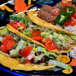 Cauliflower Mushroom Tacos.