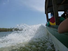 Photo: ...den Nicargua-See hinüber zu den ersten Inselchen des Archipels