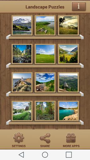 Landscape Puzzles 50.0.50 screenshots 1