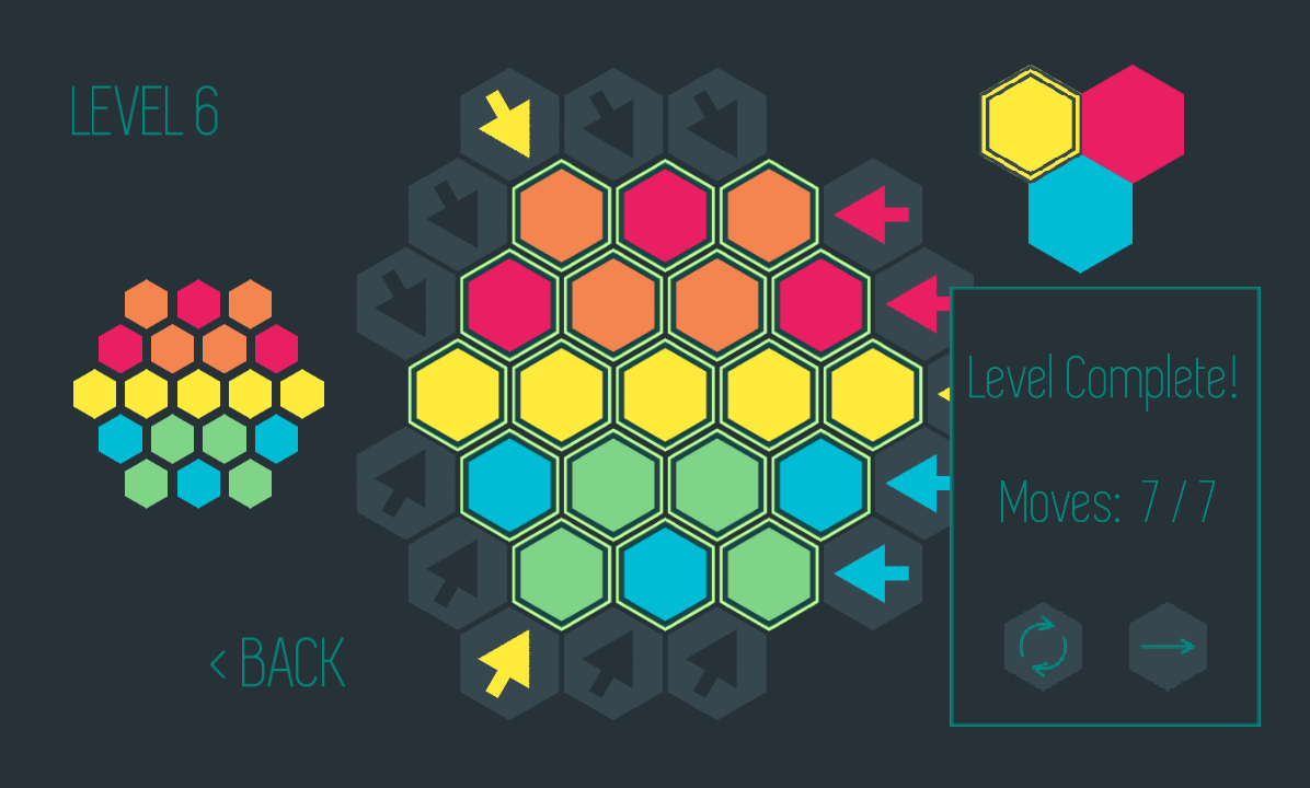 Color Hex: Color mix puzzle- screenshot