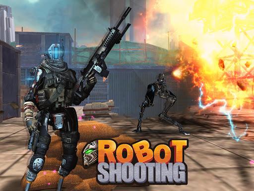 Robot Shooting War Games: Robots Battle Simulator 1.4 de.gamequotes.net 1