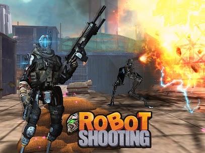 Robot Shooting War Games: Robots Battle Simulator 1