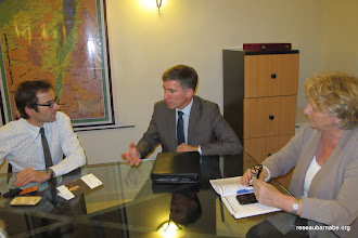 Photo: Rencontre avec le Conseiller de Coopération et d'Action culturelle du Consulat général de France