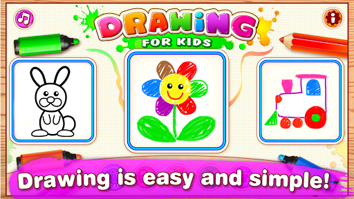 Drawing for Kids Learning Games for Toddlers age 3  1