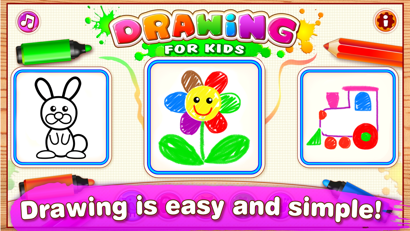 drawing for kids learning games for toddlers android apps on