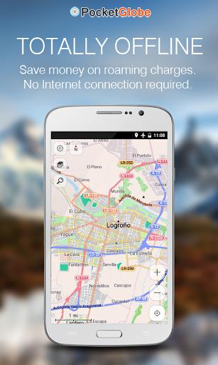 ブータン 地図オフライン