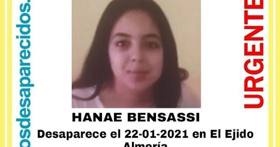 Aparece en buen estado la menor de 14 años desaparecida en El Ejido