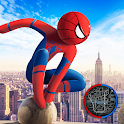 Spider Stickman Rope Hero  2 - Gangster Crime City icon