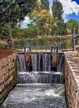 Photo: Esclusa 37. Canal de Castilla. Dueñas