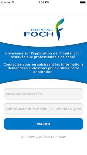 Hôpital Foch Pro screenshot 2