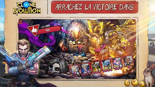Télécharger Gratuit Clone Evolution: Bataille RPG-Combat futur Fantasy mod apk screenshots 1