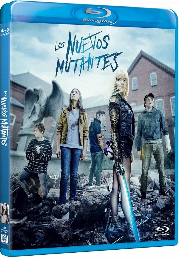 Nuevos Mutantes en DVD y BLU-RAY